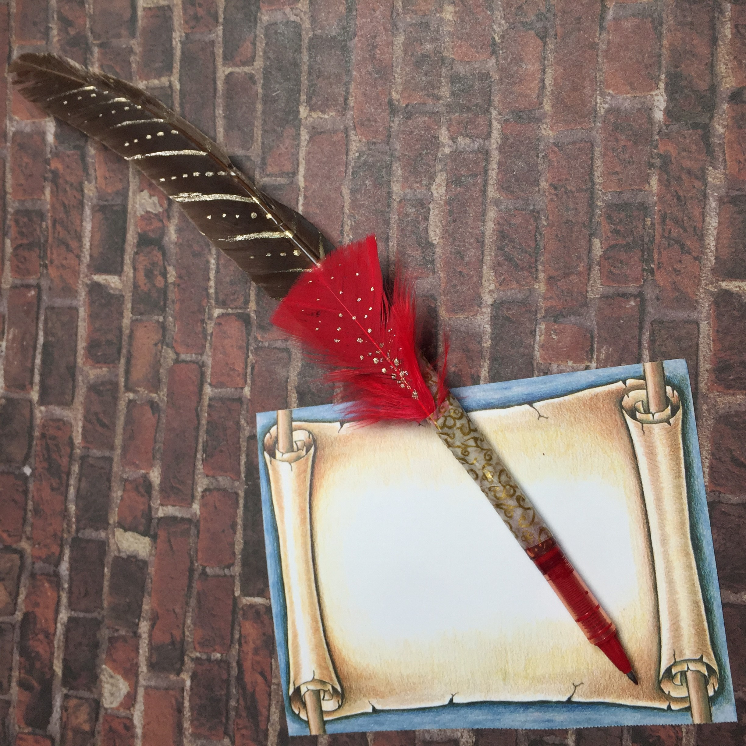 wizard quill craft example