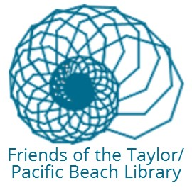 Nautilus Shell logo for the Friends of the Pacific Beach/Taylor Library