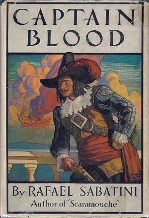 Captain Blood original 1922 book cover