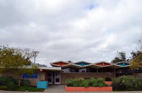 North Clairemont Library - Googie architectural style